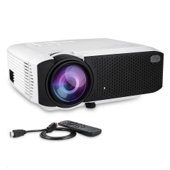 Projector, Turewell Mini Projector, 2000 Lumens 176'' Display Portable LED Projector, Multimedia Home Theater Video Projector with HDMI Cable, Support