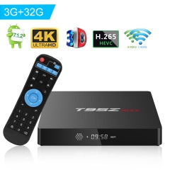 T95Z Max TV Box Android 7.1 Amlogic S912 Octa-Core 3GB DDR3/32GB ROM Dual WiFi 2.4/5GHz Bluetooth 4.1 Support 4K 3D Video Player