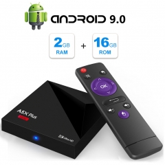 2019 Android TV Box 9.0, Android Box 2GB RAM 16GB ROM, RK3328 Quad-Core 64bit, 2.4GHz WiFi Smart TV Box, HDMI 2.0 Output Support H.265 4K*2K@ 60HZ Ult